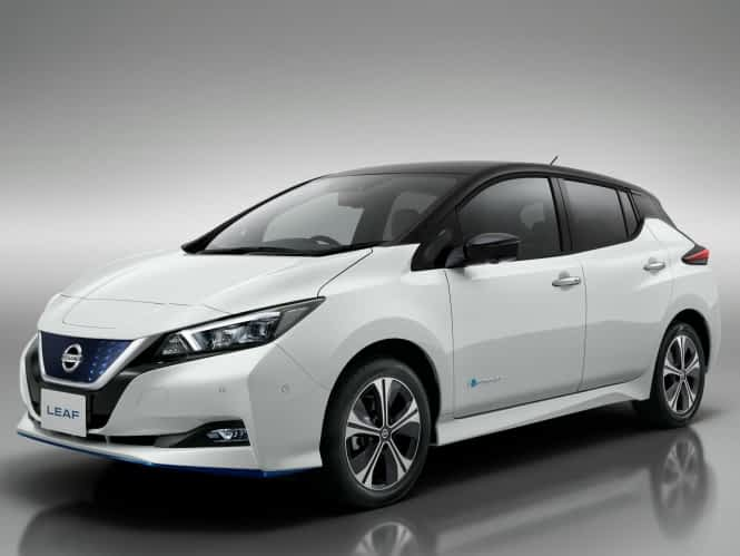 """Featured image for """"Nissan Leaf – Lease aanbieding"""""""
