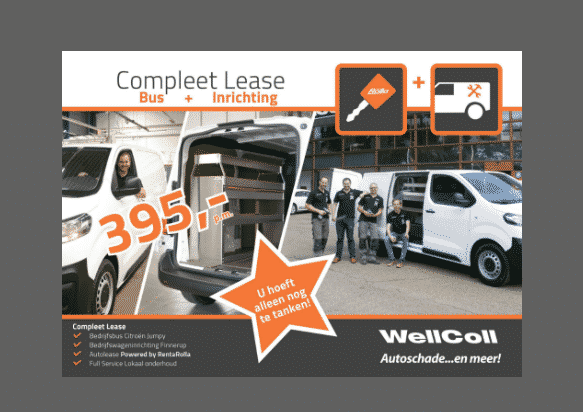 Lease + inrichting compleet