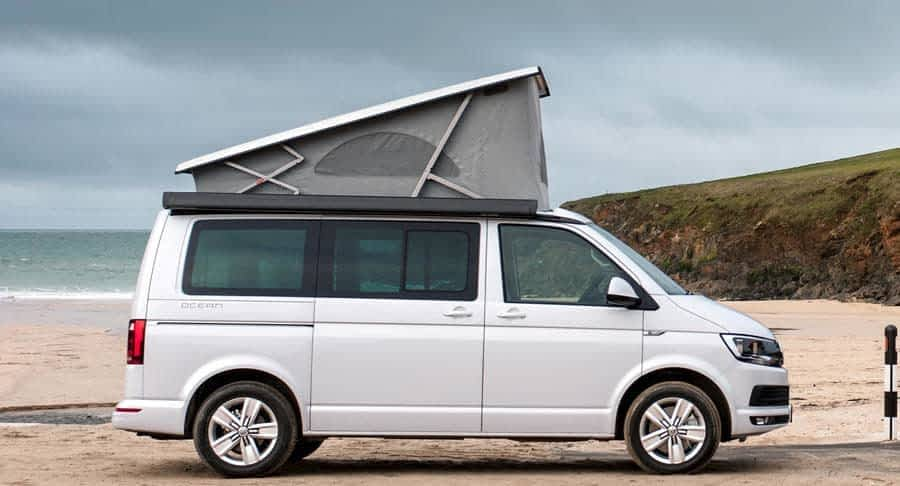 VW Camper California te huur